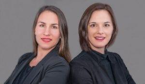 Kira Thomas und Constance Klemenz